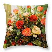 Flowers 5 Throw Pillow