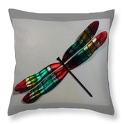 Fly Away Baby Dfly Throw Pillow