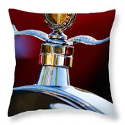 Ford Boyce Motometer  Throw Pillow