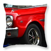 Ford Falcon Details Throw Pillow