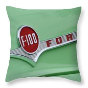 Ford Pickup Details Throw Pillow