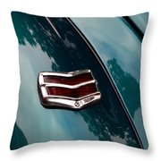 Ford Taillight Throw Pillow