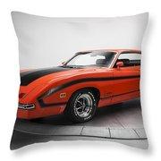 Ford Torino Throw Pillow