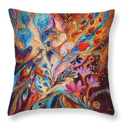 Foreboding Storm Throw Pillow
