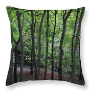 Forest Throw Pillow