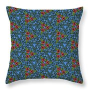Forest Vines Throw Pillow