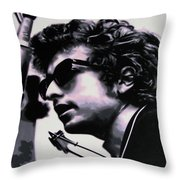 Forever Young Throw Pillow by Luis Ludzska