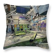Forgotten Place Throw Pillow