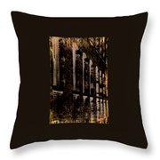 Forlorn Abstraction Throw Pillow