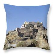 Fort Kumbhalgarh Throw Pillow