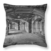 Hall Of Echoes Throw Pillow