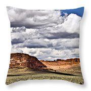 Fort Rock Throw Pillow