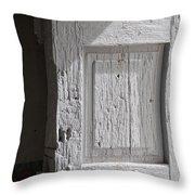 Fort Warren Door 7150 Throw Pillow
