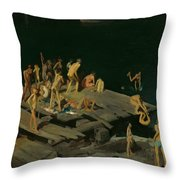 Forty-two Kids Throw Pillow