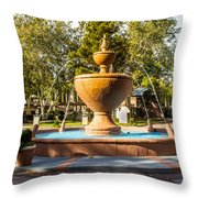 Fountain At Tlaquepaque Throw Pillow