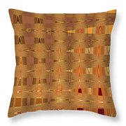 Four Egg Plant Abstract Throw Pillow