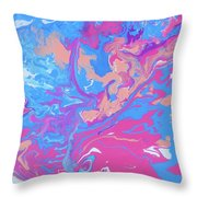 Fragments Of A Dream - Candies Throw Pillow