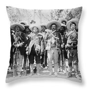 Francisco Pancho Villa Throw Pillow