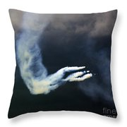 Frecce Tricolori Throw Pillow