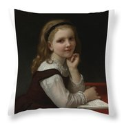 French Distraction Throw Pillow