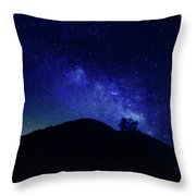 French Gulch Milky Way Throw Pillow
