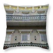 French Quarter 15 Throw Pillow