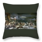 French Rev: Valmy, 1792 Throw Pillow