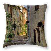 French Scenes Throw Pillow