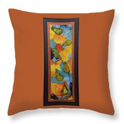 Freshly Picked Pears Throw Pillow