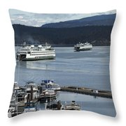 Friday Harbor Throw Pillow