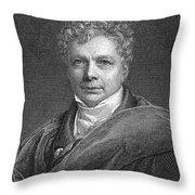 Friedrich W.j. Von Schelling Throw Pillow