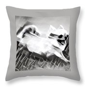 Frolicking Chihuahua Series Throw Pillow