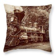 From Out Of The Past Throw Pillow