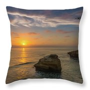From Surf To Sky Throw Pillow