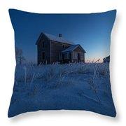 Frozen And Forgotten Throw Pillow