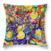 Fruit Full Vibrations Throw Pillow