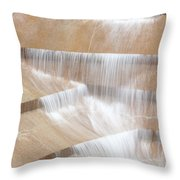 Ft Worth Water Gardens Throw Pillow