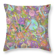 Funfetti Throw Pillow