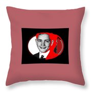 Future Charismatic Cult Leader Charles Manson As A Young Man No Location Or Date - 2009 Throw Pillow