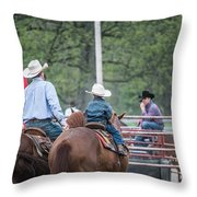 G Throw Pillow