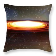 Galactic Core Throw Pillow