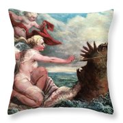 Galatea In Egress Throw Pillow