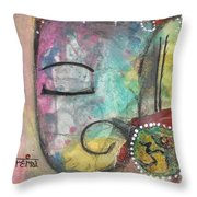 Ganesha Throw Pillow