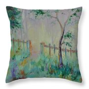 Garden And Beyond Throw Pillow