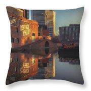 Gas Street Basin Sunrise No3 Throw Pillow