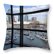 Gasparilla Throw Pillow
