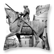 Gattamelata (1370-1443) Throw Pillow by Granger