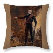 General Gebhard Leberecht Von Blucher Throw Pillow