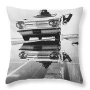 General Motors Proving Ground Throw Pillow