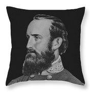 General Stonewall Jackson - Five Throw Pillow